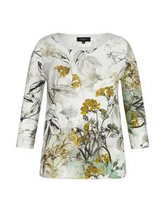Bexleys woman - Florales Shirt mit 3/4-Arm