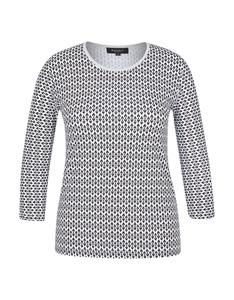 Bexleys woman - Gemustertes Shirt mit 3/4-Arm