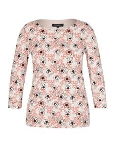 Bexleys woman - Langarmshirt mit feinem Blumenmuster