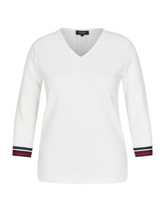 Bexleys woman - Shirt mit Strukturstreifen