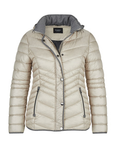 Bexleys woman - Steppjacke mit Flanelldetails