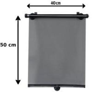 Seitenfensterrollo mit Saugnapf von Norauto, 40x50 cm