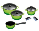 Bild 3 von KING 11tlg. Küchenset inkl. 4 Kochtöpfe, Bräter, 5 Messer, Messerblock
