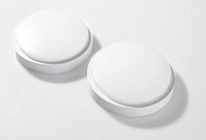 I-Glow LED-Bulkhead, rund - 2er-Set
