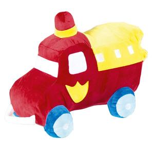 Dreamtex Junior Plüschkissen - Feuerwehrauto