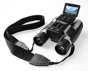 Technaxx Full HD Fernglas Camcorder mit Akku + Display TX-142