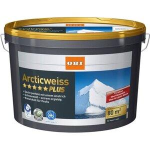 OBI Arcticweiss Plus matt 10 l