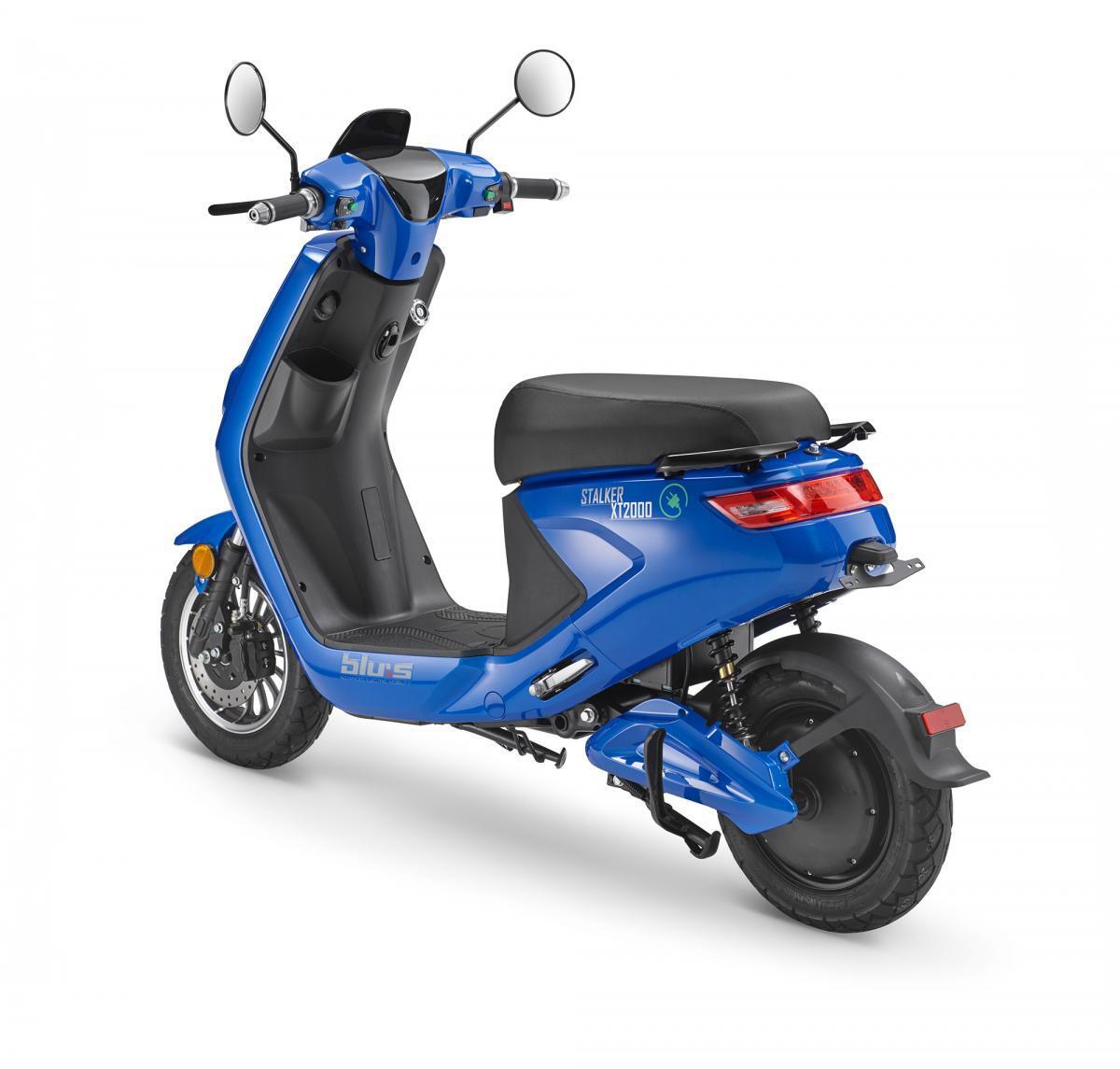 Bild 3 von Blu:s XT2000 Elektroroller STALKER (25km/h), blau