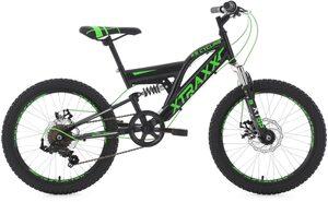 KS Cycling Mountainbike »XTRAXX«, 7 Gang Shimano Tourney Schaltwerk, Kettenschaltung
