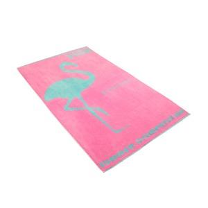 Vossen Strandtuch Miss Flamingo 100 x 180cm