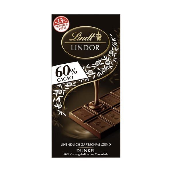 Lindt Lindor Tafelschokolade jede 100-g-Tafel