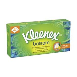 Kleenex Taschentücher oder Kosmetiktücher, jede 56/60/80er-Box