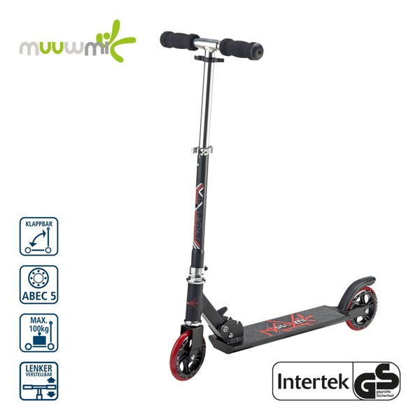 Scooter 125er - 125-mm-Rollen