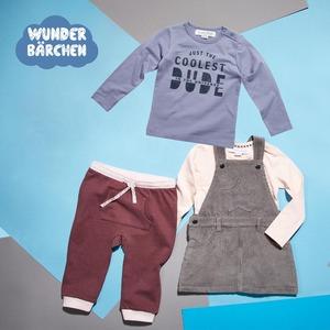 Baby-Langarmshirt oder -Sweathose Größe: 68 - 98, ab