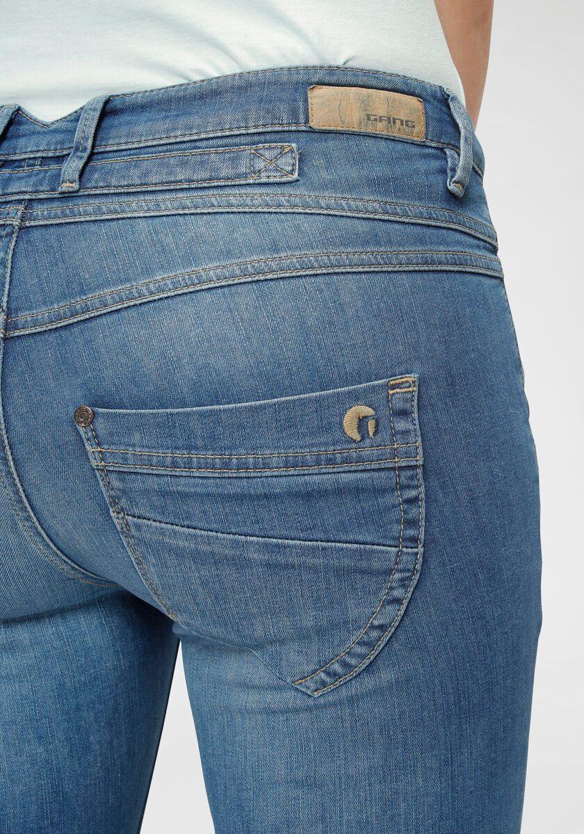 Bild 2 von GANG Skinny-fit-Jeans »Medina« mit stylischer halb offener Knopfleiste