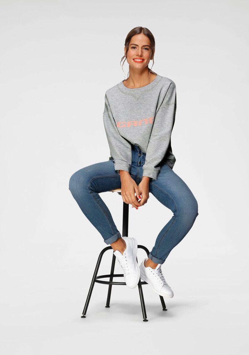 Bild 3 von GANG Skinny-fit-Jeans »Medina« mit stylischer halb offener Knopfleiste
