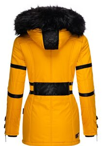 Navahoo Wintermantel »Moony« stylischer Damen Winter Jacke mit Kapuze