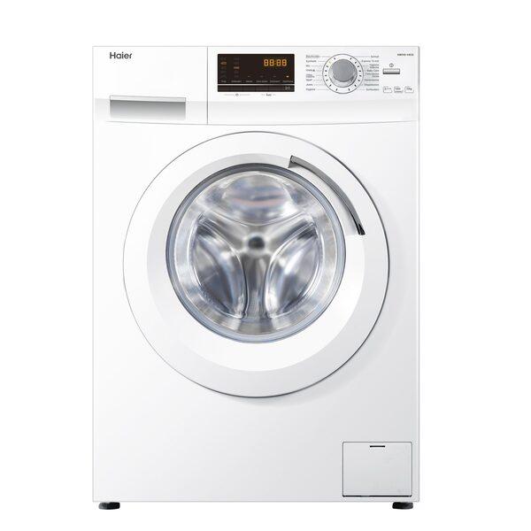 Haier Waschmaschine HW100-14636, 10 kg, 1400 U/Min, AquaProtect Schlauch Woolmark-zertifiziertes Wollwaschprogramm