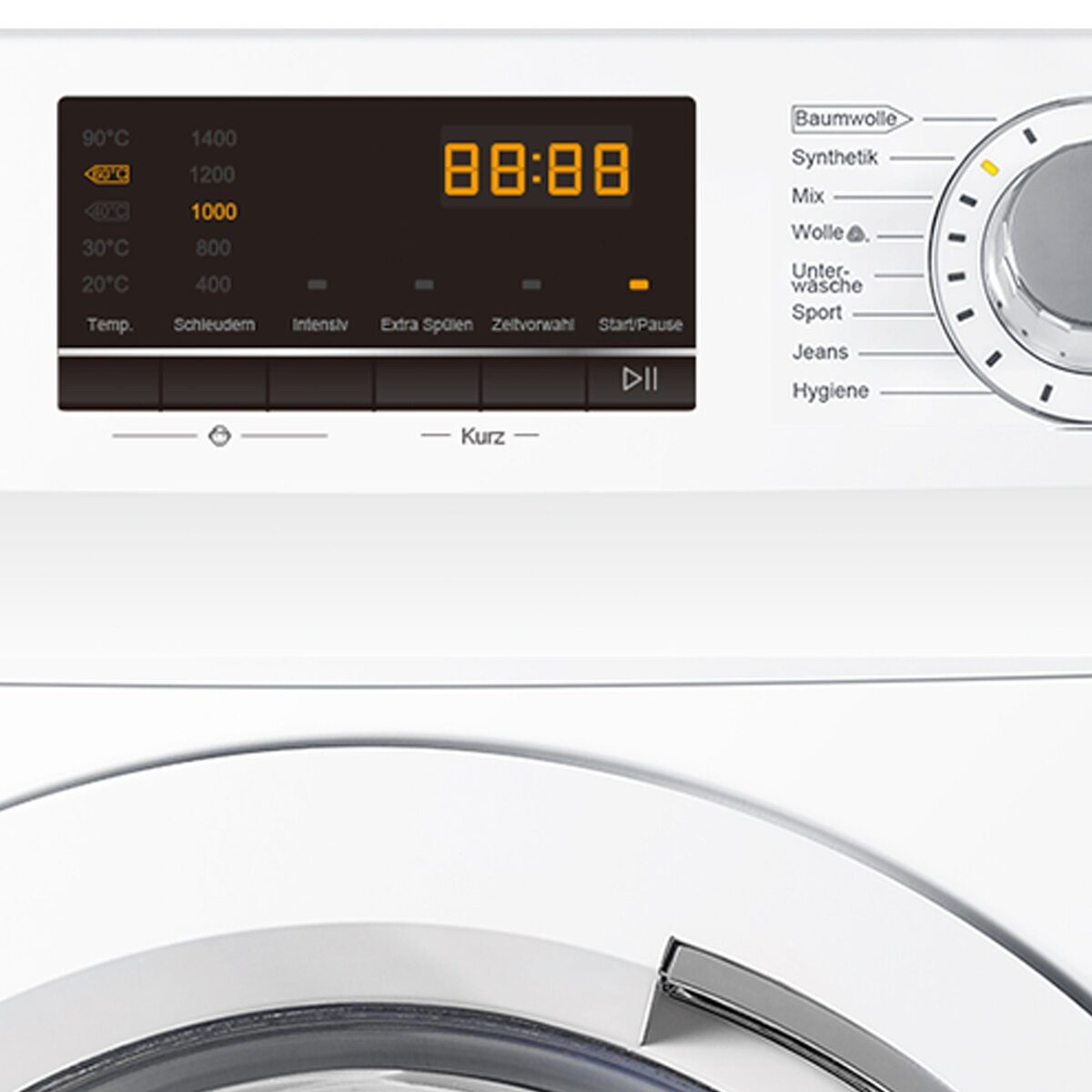 Bild 3 von Haier Waschmaschine HW100-14636, 10 kg, 1400 U/Min, AquaProtect Schlauch Woolmark-zertifiziertes Wollwaschprogramm