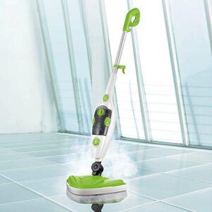 CLEANmaxx Dampfbesen, 5in1 limegreen 1500W