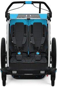 Thule Fahrradkindersitz »Fahrradanhänger Chariot Sport 2, schwarz/blau«