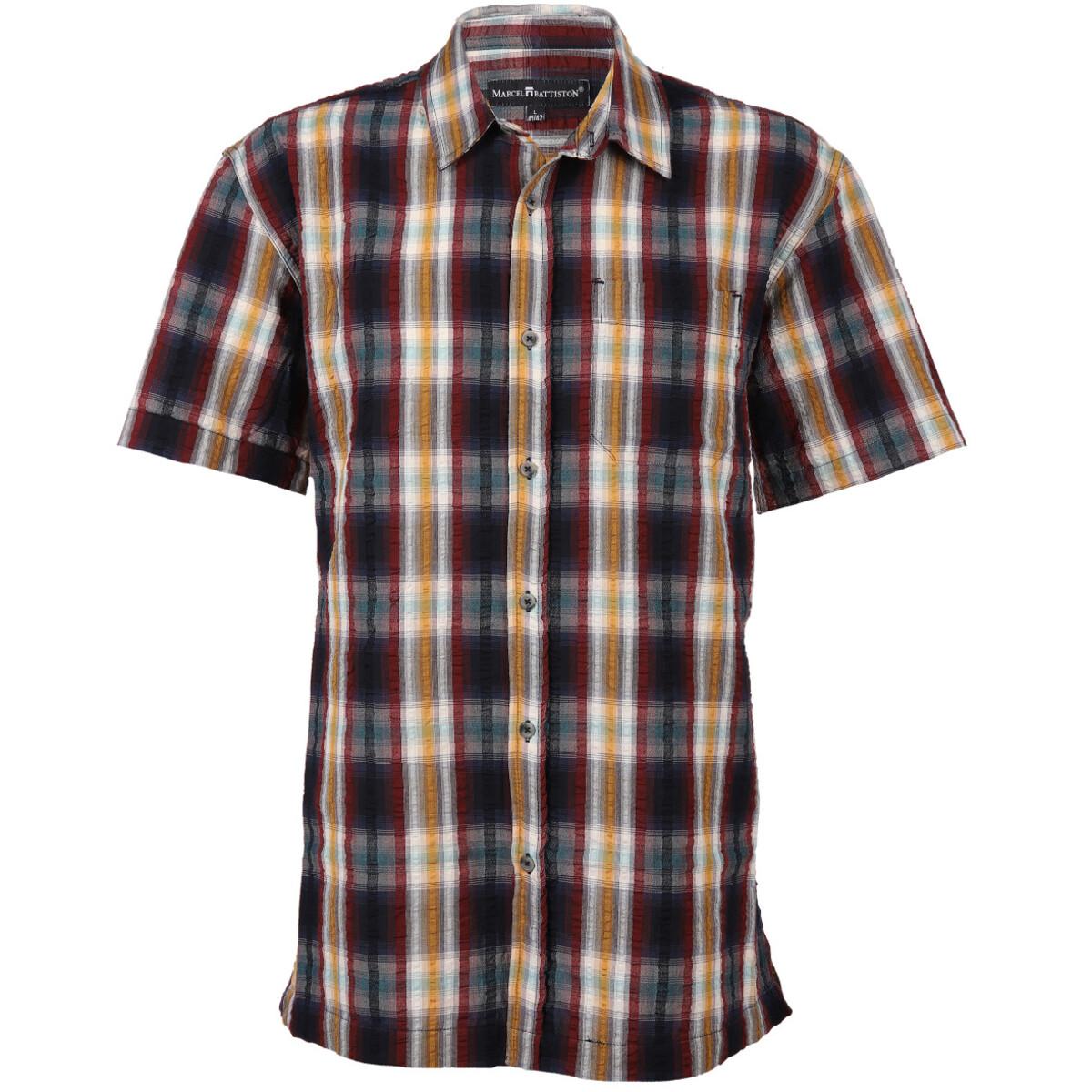 Bild 1 von Herren Seersucker Hemd mit Brusttasche