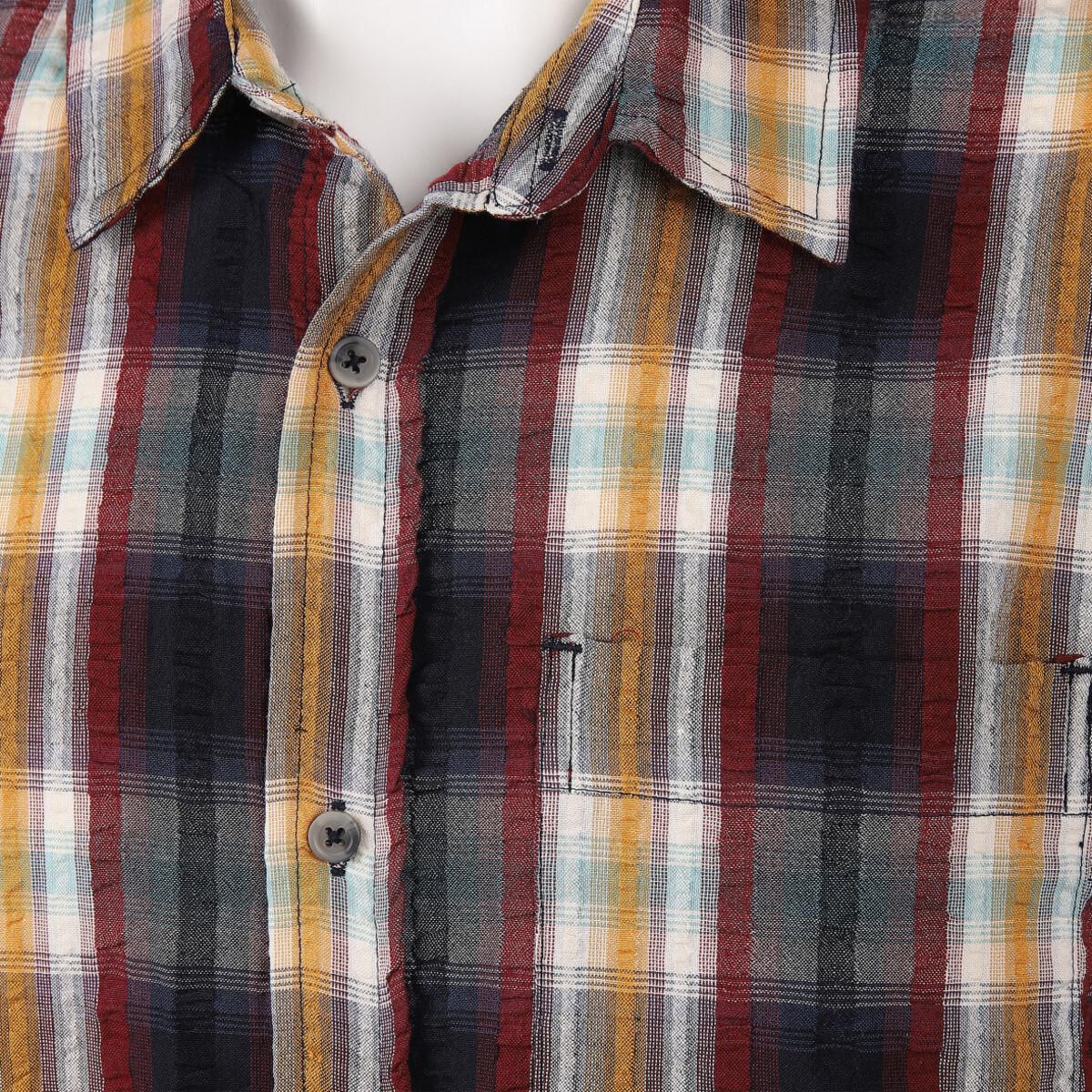 Bild 3 von Herren Seersucker Hemd mit Brusttasche