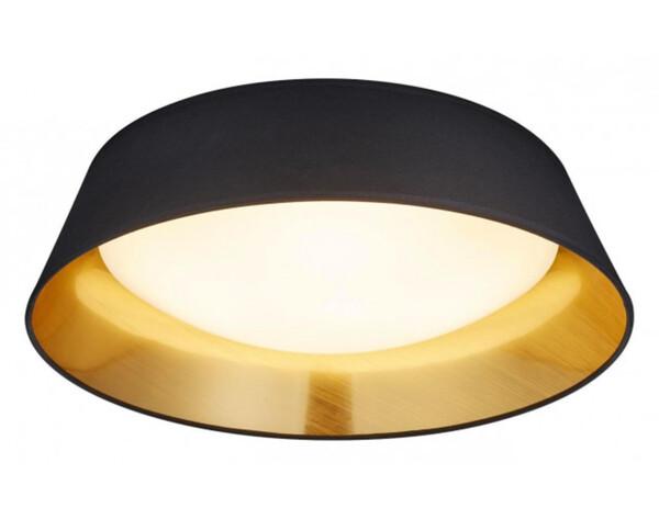 LED-Deckenleuchte R62871879 D. 45 cm schwarz/goldfarbig