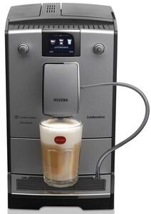 NIVONA CafeRomatica 769 Silver Line Kaffeevollautomat (Herausnehmbare Brüheinheit, Aroma Balance System, 3D In-MoldDesign Front)