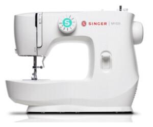 SINGER M 1505 Nähmaschine (leicht, robust, Metall-Gehäuse, Klick-Einrastfunktion, Reißverschluss-Fuß, Knopfloch, Knopfannnäh-Programm)