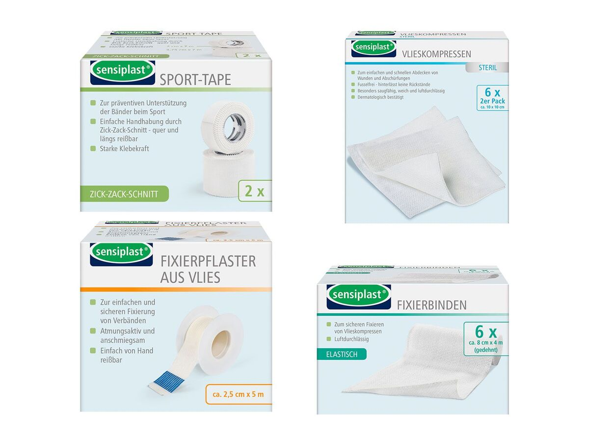 Bild 1 von SENSIPLAST® Binden- und Bandagensortiment