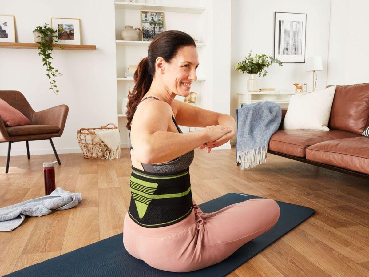 Bild 3 von SENSIPLAST® Rückenbandage, mit positionierbarer Lumbalpelotte, mit Noppen