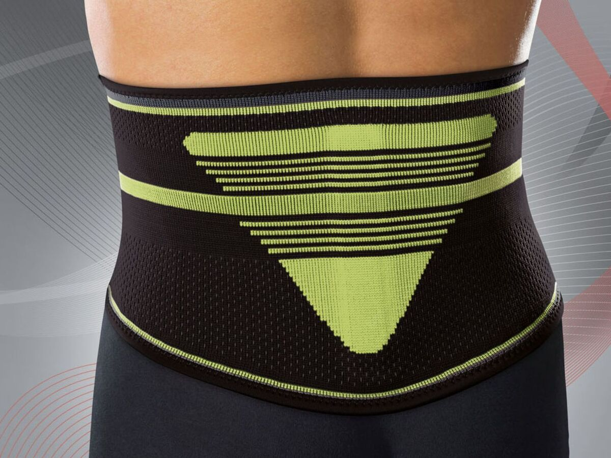 Bild 4 von SENSIPLAST® Rückenbandage, mit positionierbarer Lumbalpelotte, mit Noppen