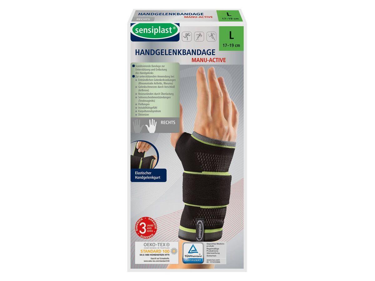 Bild 1 von SENSIPLAST® Strumpfbandage, für Handgelenke, mit eingearbeiteter Pelotte, Stabilitätsstab
