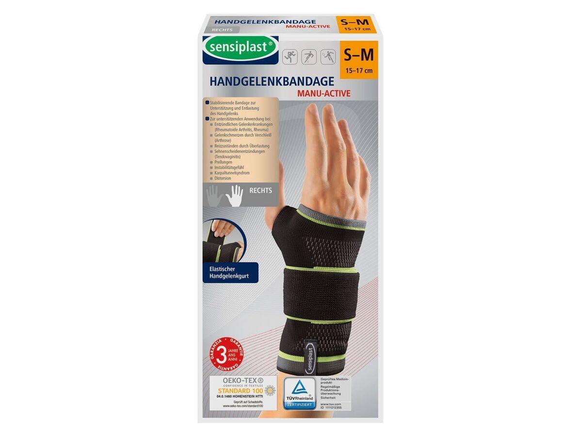 Bild 2 von SENSIPLAST® Strumpfbandage, für Handgelenke, mit eingearbeiteter Pelotte, Stabilitätsstab