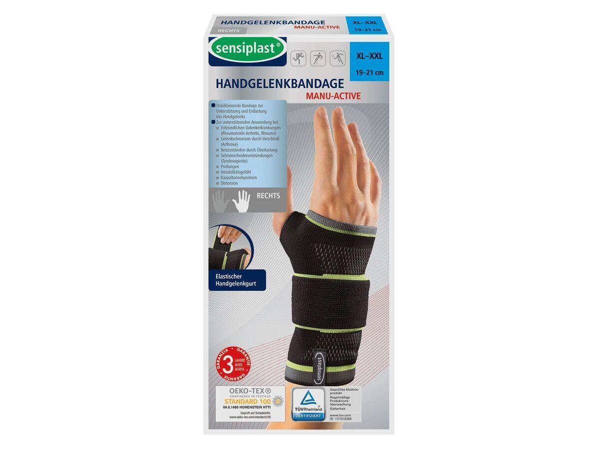 Bild 3 von SENSIPLAST® Strumpfbandage, für Handgelenke, mit eingearbeiteter Pelotte, Stabilitätsstab