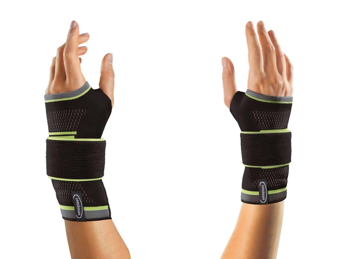 Bild 4 von SENSIPLAST® Strumpfbandage, für Handgelenke, mit eingearbeiteter Pelotte, Stabilitätsstab