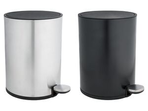 MIOMARE® Kosmetikeimer, herausnehmbarer Kunststoff-Inneneimer, mit Metallbügel