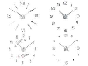AURIOL® Do-it-yourself Wanduhr, Set zur freien Gestaltung und Anordnung, Quarzuhrwerk