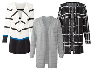 ESMARA® Cardigan Damen, legere Form, aus reiner Baumwolle