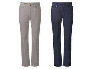LIVERGY® Cordhose Herren, Straight Fit, im 5-Pocket-Style, aus Baumwolle und Elasthan