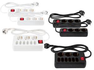 PARKSIDE® Tischsteckdosenleisten, mit Kindersicherung, beleuchteter Schalter