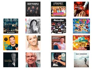 Top CD, mit verschiedenen Titeln