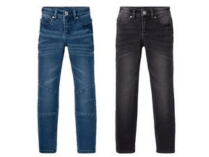PEPPERTS® Sweatdenim Jungen, mit verstellbaren Innenbund, in Jeans Optik, mit Baumwolle
