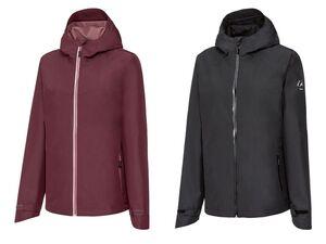 CRIVIT® Jacke Damen, weitenverstellbare Kapuze, reflektierende Details, wasserabweisend