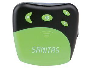 SANITAS TENS Elektrosimulationsgerät, 4 Programme, 20 Intensitätsstufen, mit Universalmanschette