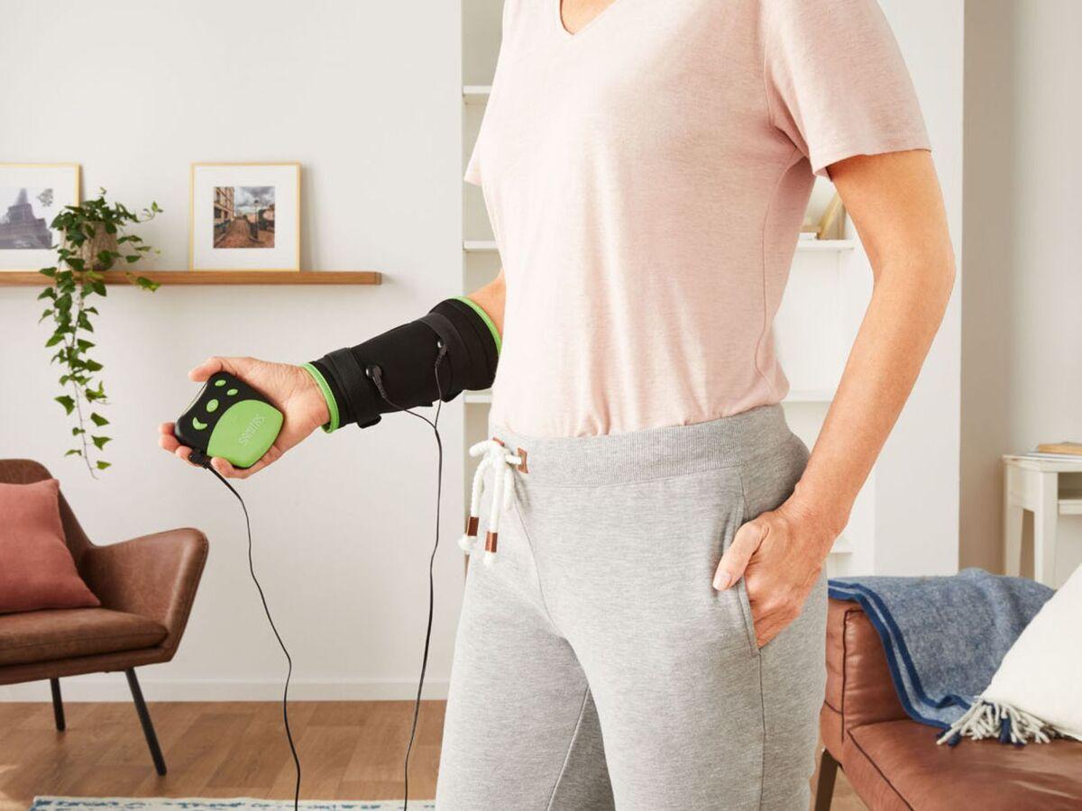Bild 5 von SANITAS TENS Elektrosimulationsgerät, 4 Programme, 20 Intensitätsstufen, mit Universalmanschette
