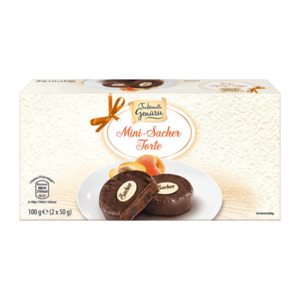 TRADITIONELLE GENÜSSE     Mini-Sacher Torte