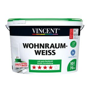 Vincent              Wohnraumweiß, 10 L