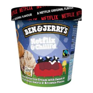 Ben & Jerry's Eis Netflix & Chilll'd
